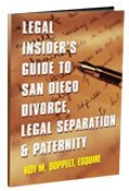 San Diego Divorce, Legal Separation & Paternity book