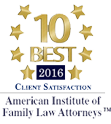 10 Best 2016 American Institute of Family Law Attorneys