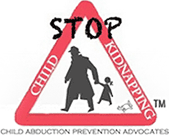 Stop Child Kidnapping logo