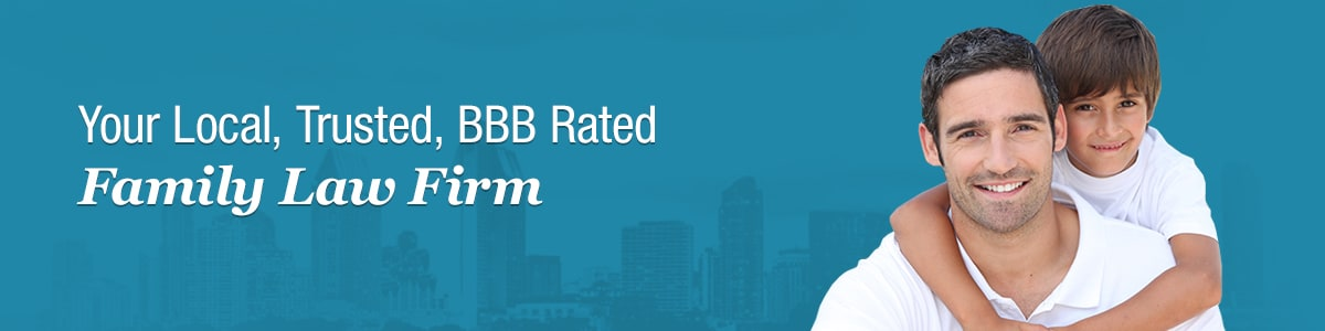 Your Local, Trusted, BBB Rated Family Law Firm